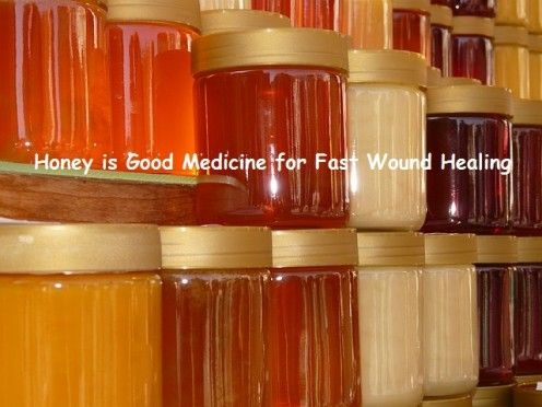 Honey is Good Medicine for Fast Wound Healing.