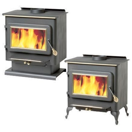 England's Stove Works® 1500Sq Ft Free Standing Wood Burning Stove - Ace Hardware