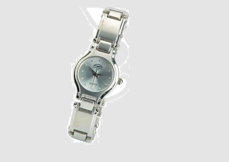 Althav's Ladies Silver Diamonte watch #durban #southafrica #watches #fashion