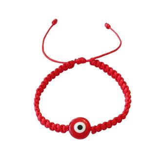 Lucky Eye Braided Baby Bracelet To Ward Off The Evil Away From Little One S Kid Jewelry Pinterest Bracelets And Kids