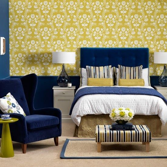 39 Best Images About Bed Room Sets On Pinterest: 39 Best Bedroom Ideas :) Coral & Navy Or Yellow & Navy