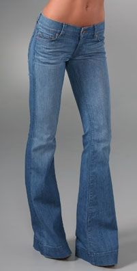 Women's Tall Bell Bottom Jeans with 36