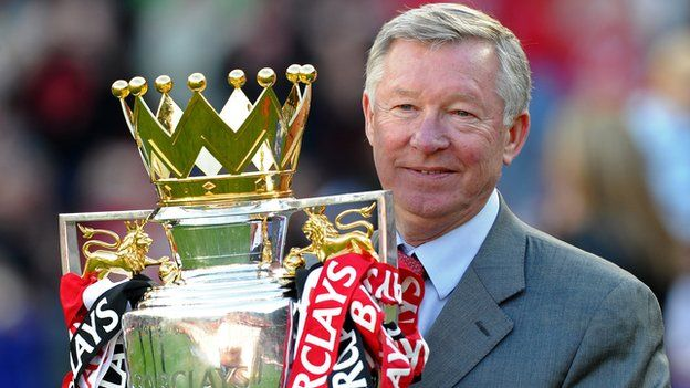 Sir Alex Ferguson will step down as Manchester United manager at the end of the season after 26 years in charge. The Scot, 71, has won 38 trophies for the club and will now become a director and ambassador. His haul includes 13 league titles, two Champions League crowns, five FA Cups and four League Cups.