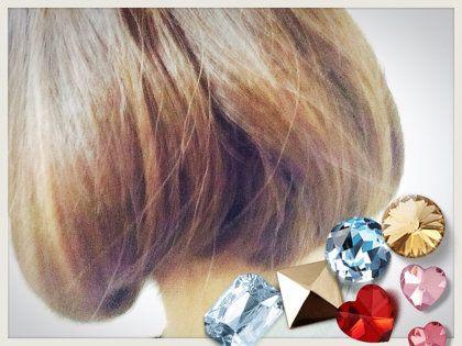 ヘアスタイル:ミディアムヘアのボブ風アレンジ