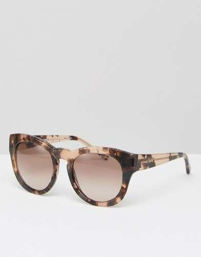 Prezzi e Sconti: #Michael kors occhiali da sole rotondi rosa taglia Taglia unica  ad Euro 160.99 in #Michael kors #Female per prodotto occhiali