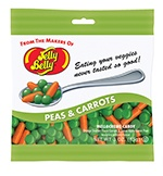 Peas and Carrots Jelly Bellys.  We used these for Bradyn's Veggie Tales party