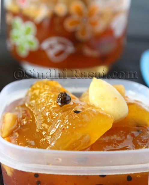 Ambh Jo Murbo  Mango Preserve   Sindhi Rasoi  Sindhi Recipes  ADD A FEW DROP OF VINEGAR