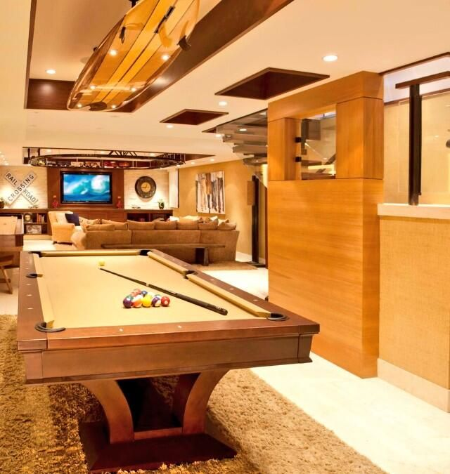 23 Best Luxury Basements Images On Pinterest