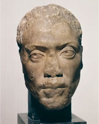 This marvellous bust is one of the very few documents of an actual black person from Greek and Roman antiquity. Memnon was a pupil and protégé of the well-known Athenian entrepreneur and philosopher Herodes Atticus.