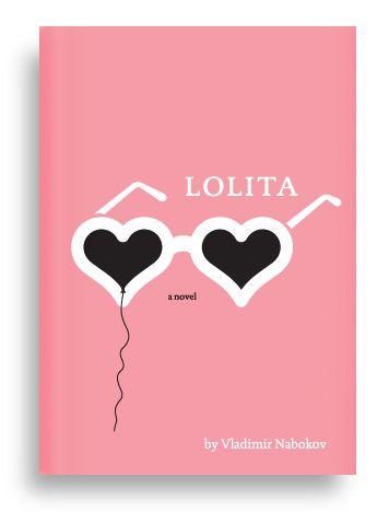 Lolita by Vladimir Nabokov. Cover illustration by Oliver Mundy.