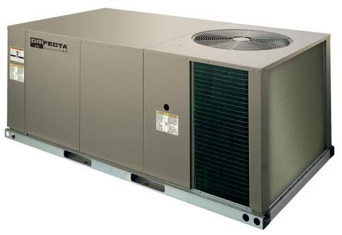Ideal Air DriFecta 3 Ton Packaged Commercial R-410A Gas/Electric Air Conditioner, 100 MBH, 208/230V 3Ph 60Hz