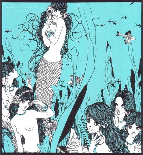 "fairytalemood:    ""The Little Mermaid"" by Junichi Nakahara"