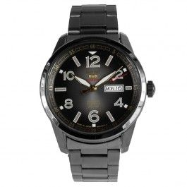 Seiko 5 Sports Japan SRP631 SRP631J1 Automatic Black Stainless Steel Watch