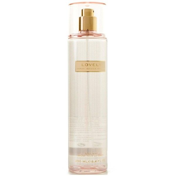 Sarah Jessica Parker Sarah Jessica Parker Lovely Body Mist 250Ml ($20) ❤ liked on Polyvore featuring beauty products, fragrance, sarah jessica parker perfume, sarah jessica parker fragrance and sarah jessica parker