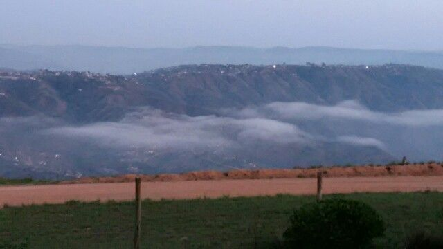 Mist over the valley