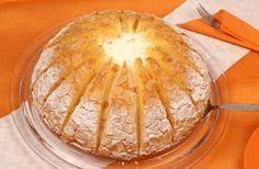 Sahnige Mandarinentorte mit einer leichten Zitronennote
