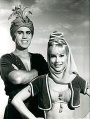 I Dream of Jeannie  ~ Barbara Eden;   Larry Hagman; Bill Daily; Hayden Rorke and Emmaline Henry  ~  September 1965 - May 1970