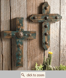 Turquoise Crosses (change the color instead of turquoise)