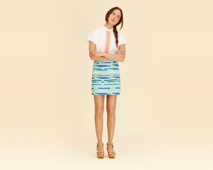 #libertinelibertine #skirt #shirt #womenswear #fashion  http://www.urbag.cz/damske-obleceni-libertine-libertine-jaro-leto-2014/