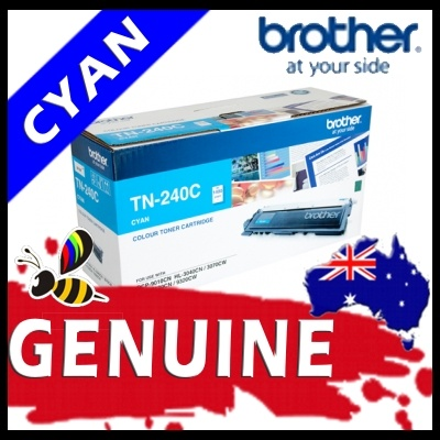 Brother TN240 Cyan Toner Cartridge