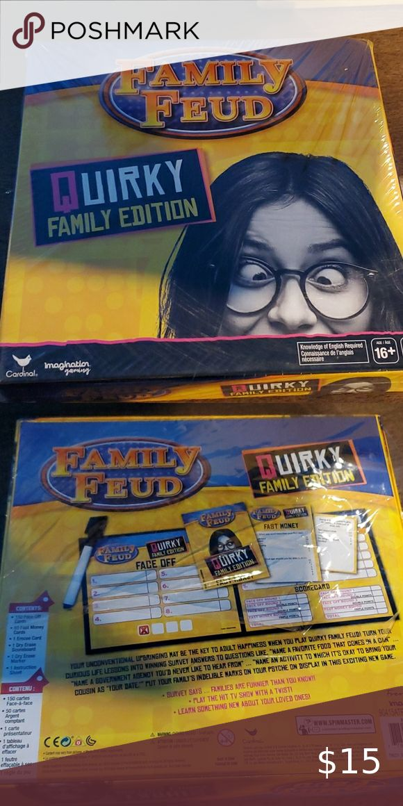 Family feud quirky famiky edition in 2020 Family feud