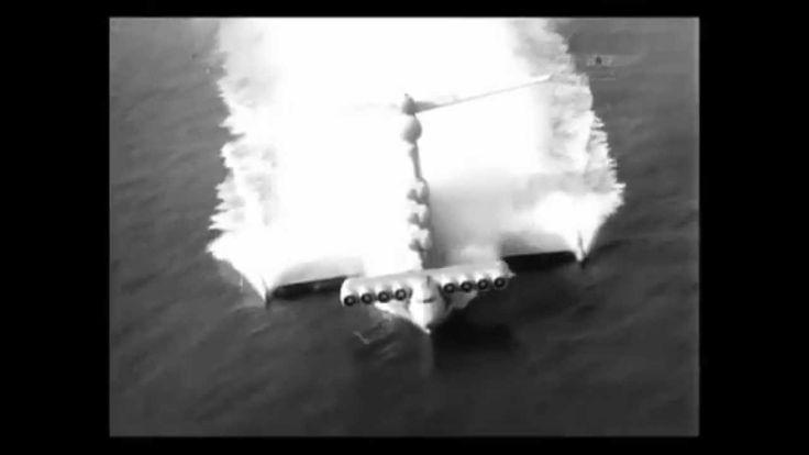 Video Lun class Ekranoplan (Caspian)