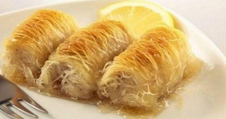 Κανταϊφι: Πώς να φτιάξετε γρήγορα και εύκολα το πεντανόστιμο σπιτικό γλυκό