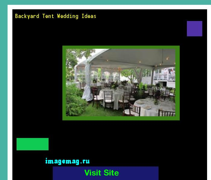 Backyard Tent Wedding Ideas 080036 - The Best Image Search