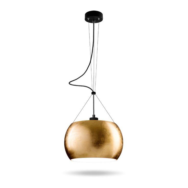 Lampa od Sotto Luce - złoto wiecznie żywe.