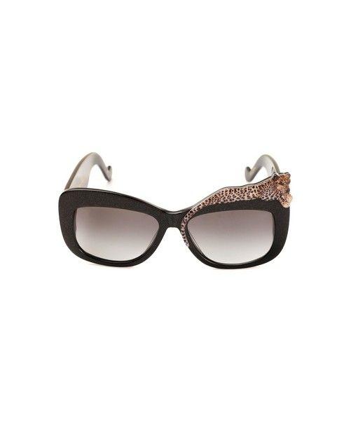 ANNA-KARIN KARLSSON Sunglasses Rose At La Mer black variant  graded black lenses  acetated material provided with case and box