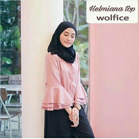 Helmira Girly casual 75rb wolfis Ig :pubi_shop https://line.me/R/ti/p/%40huh4297w