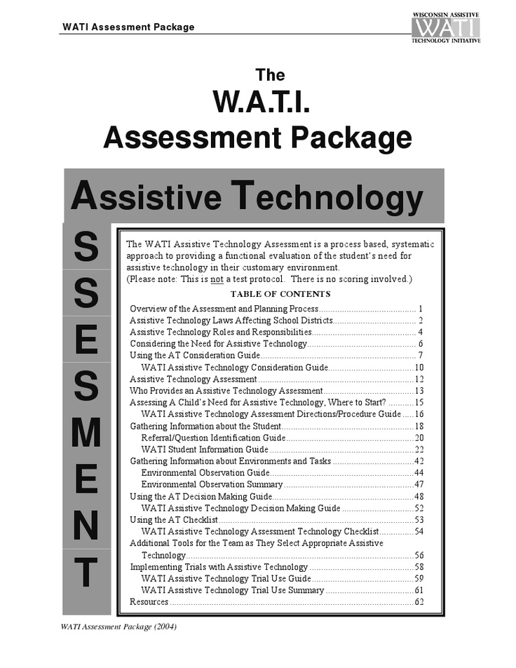 assistive technology device evaluation Georgia project for assistive  a pencil grip is an assistive technology device that may be used by  an assistive technology evaluation may be required if.