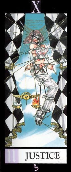 'The Justice' (personificado por Karen Kasumi)