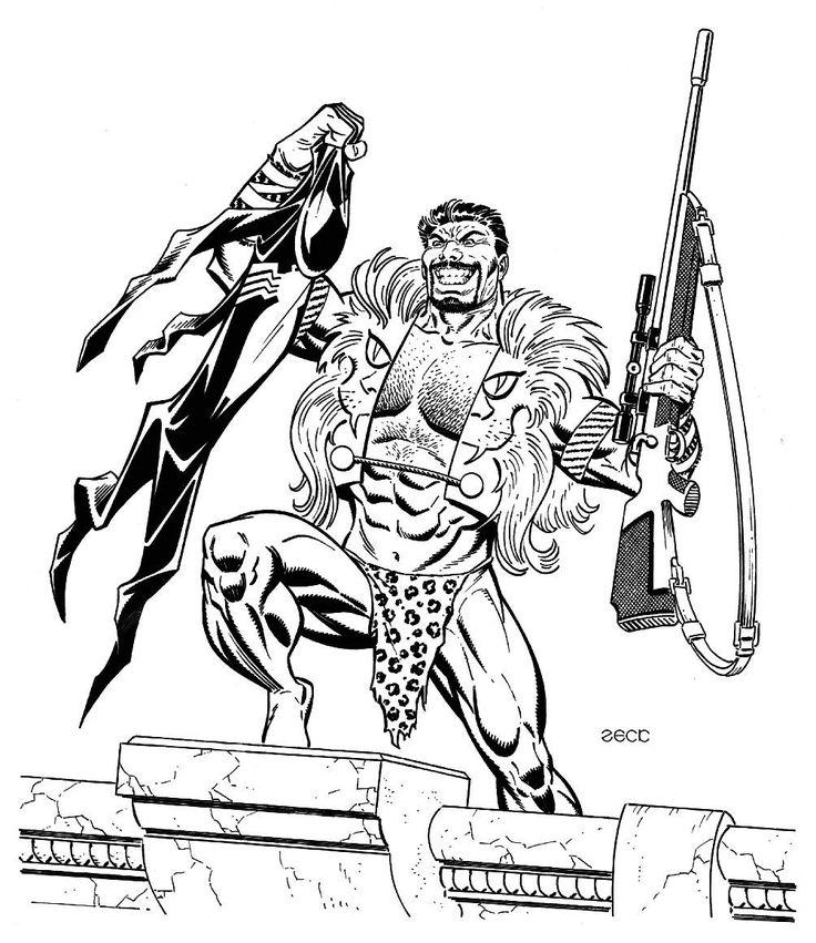 Mike zeck marvel art comics punisher captain america spider man kraven