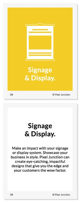 #Signage #Displays #Design