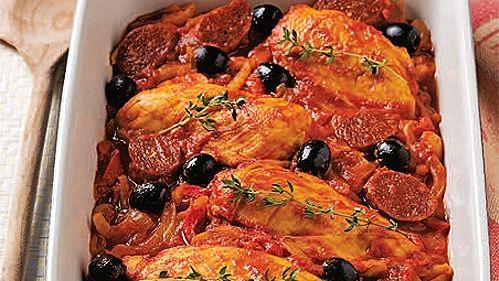 Poitrines de poulet à l'espagnole