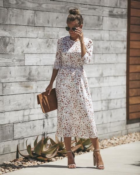 2388887e15c 20 Flawless Midi Dresses to Wear all summer long