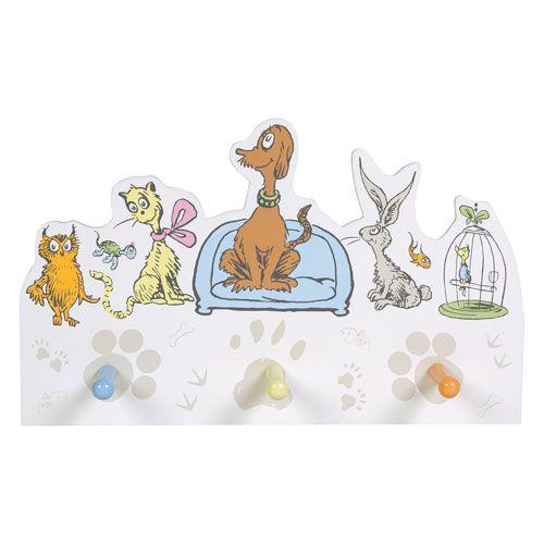 Dr. Seuss What Pet Should I Get Peg Hook Trend Lab Shelving Kids Furniture Childrens