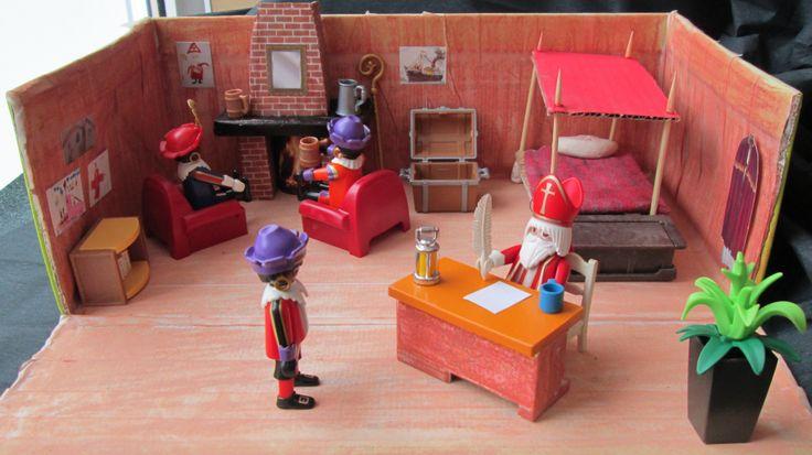 Sinterklaas 05 Werk/slaapkamer  verteltafel Nutsschool Maastricht