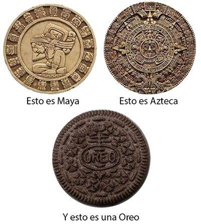 Para @noticiasuno el fin del mundo del 21 es maya no azteca. cambien sus indicadores !!!