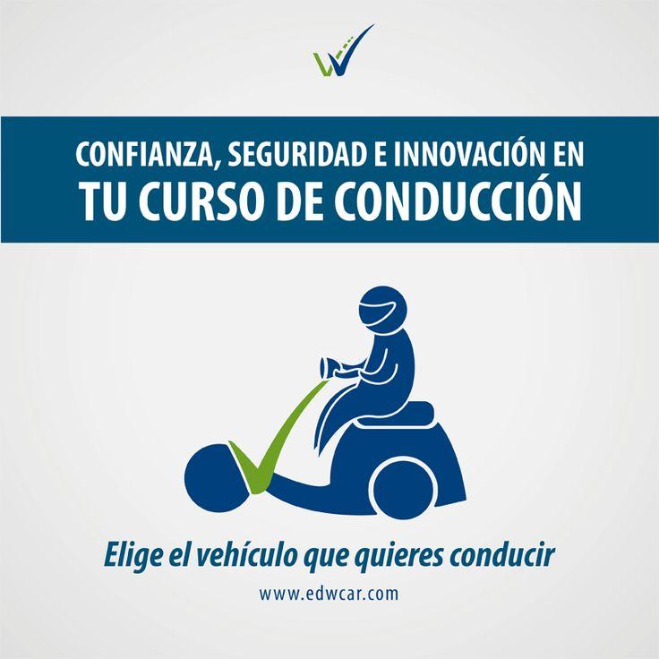 ¿Quieres una #moto pero aún sin saber manejar? ¡Nosotros te enseñamos! No sólo es conducir, es promover #VidaEnLaVía.  www.EDWCAR.com