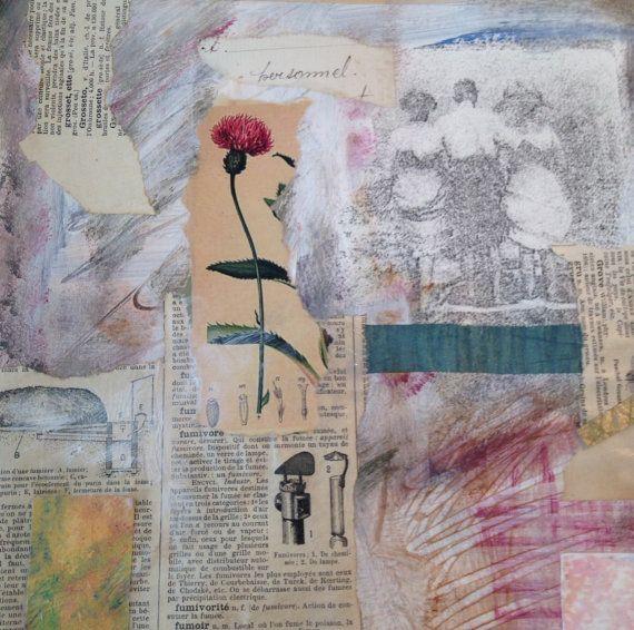 Изобразительное искусство Фотография, цифровой коллаж, Печать, 8,5 х 11, старинные фото, коттедж шикарный арт