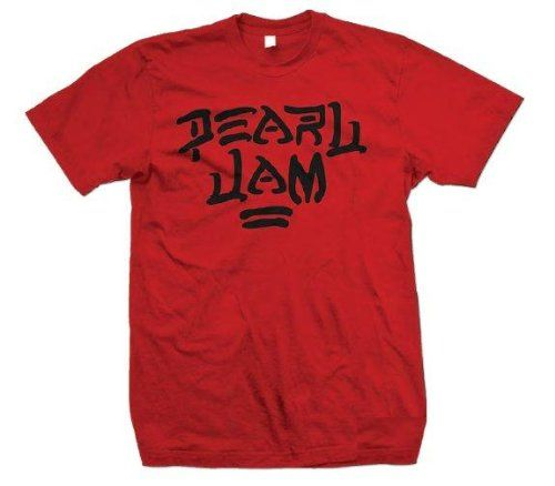 48% Off was $29.95, now is $15.45! Pearl Jam 'Destroy' Red T-shirt  #PearlJam