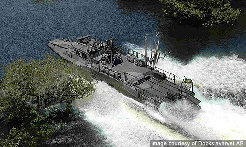 The craft was originally built for the Swedish navy. - Image - Naval Technology