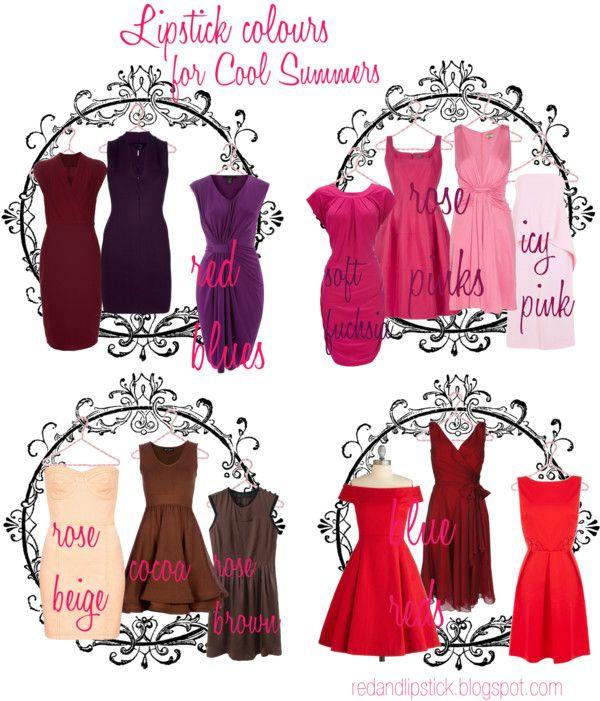 Cool Summer: Lipstick colours