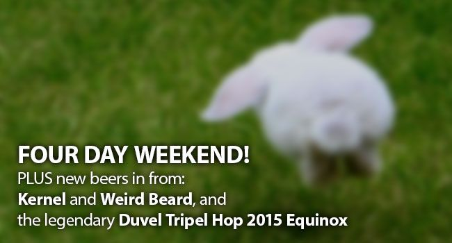 Read our latest newsletter, for the upcoming 4 day weekend!