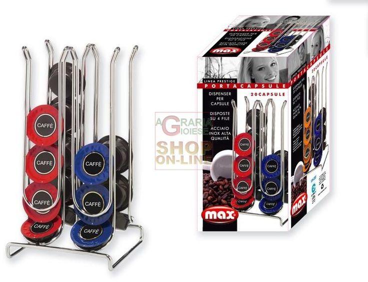 MAX PORTA CIALDE LAVAZZA 12.5X12.5X23.5CM https://www.chiaradecaria.it/it/max/11898-max-porta-cialde-lavazza-125x125x235cm-8017365027049.html