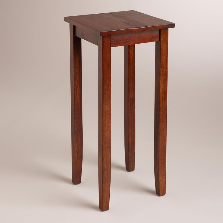 Tall Chloe Accent Table World Market Our Room Pinterest Entry Tables Front Entrances And