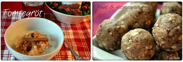 Tasty Health: Julrecept: Nyttigare tomtegröt och frukt och nötpr...