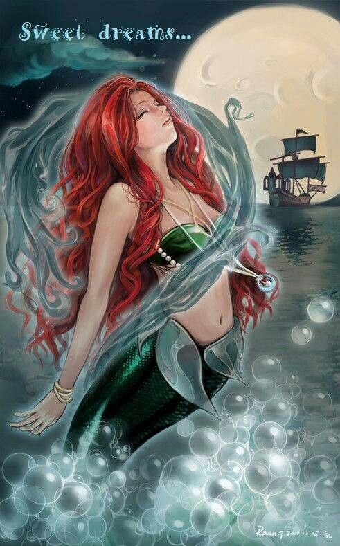 Mermaid Sweet Dreams Fantasy Amp Magic Mermaids